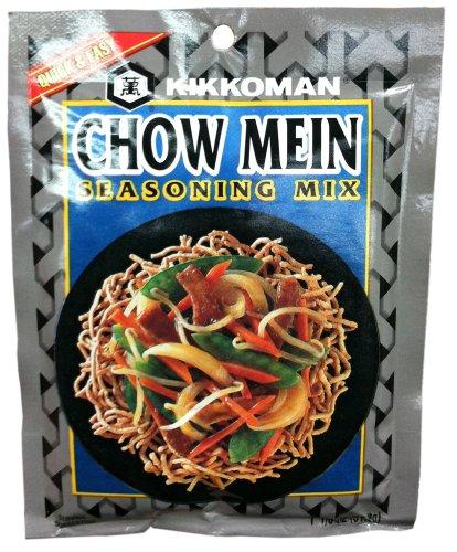 Kikkoman CHOW MEIN Seasoning Mix 1.125oz (6 Pack)