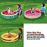 XFlated Kiddie Pool, Watermelon 3 Ring Inflatable