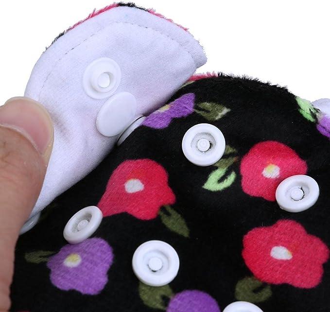 Domybest nouveau-n/é doux Lavable /étanche respirant /à couches couches en tissu