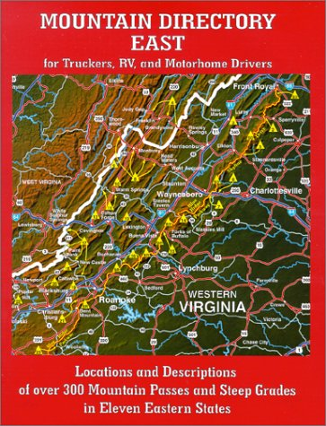 Mountain Directory East for Truckers, RV, and Motorhome for sale  Delivered anywhere in USA