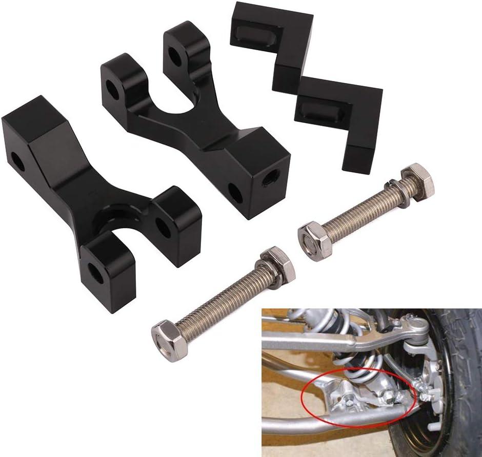 JFG RACING CNC Aluminum ATV Kit de reducción Frontal para LTR 450 QuadRacer