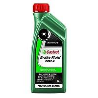 Castrol 15036B - Líquido de frenos (1 l, para vehículos DOT 3 y DOT 4)