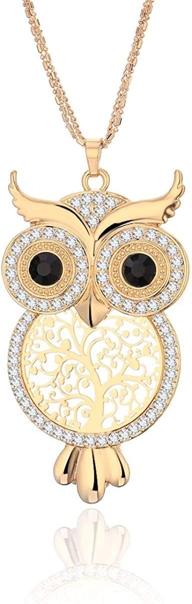Ouran Long Necklace Owl...