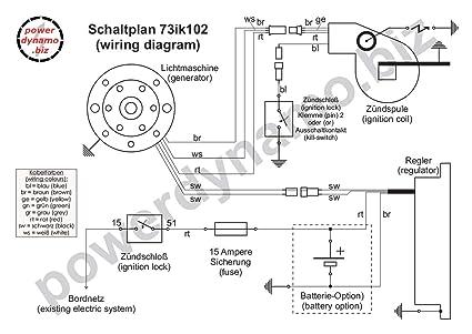 Amazon.com: Powerdynamo MZ-B DC Ignition System Stator ... on
