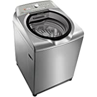 Máquina de Lavar Brastemp 15kg cor Inox com Ciclo Edredom Especial e Enxágue Anti-Alérgico 220V