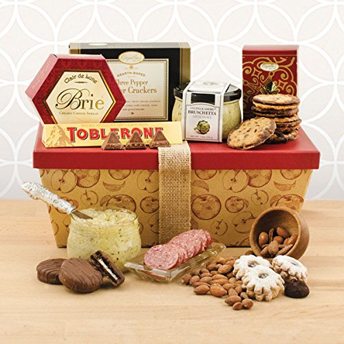 Gourmet Goodness Gift Box (Fruit Baskets To Ship)