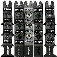 INTEGRA 20pc Mix Saw Wood Bi-metal Precision Pack...