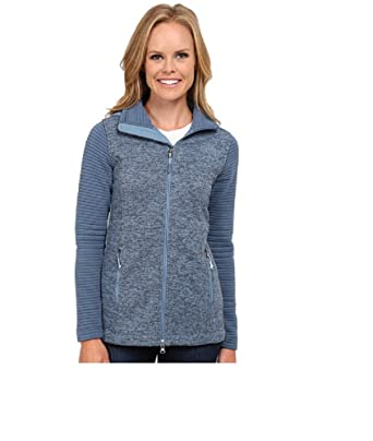 2a35e4ad89c0 The North Face Women s Indi Insulated Hoodie Cool Blue Heather Cool Blue  (Prior Season