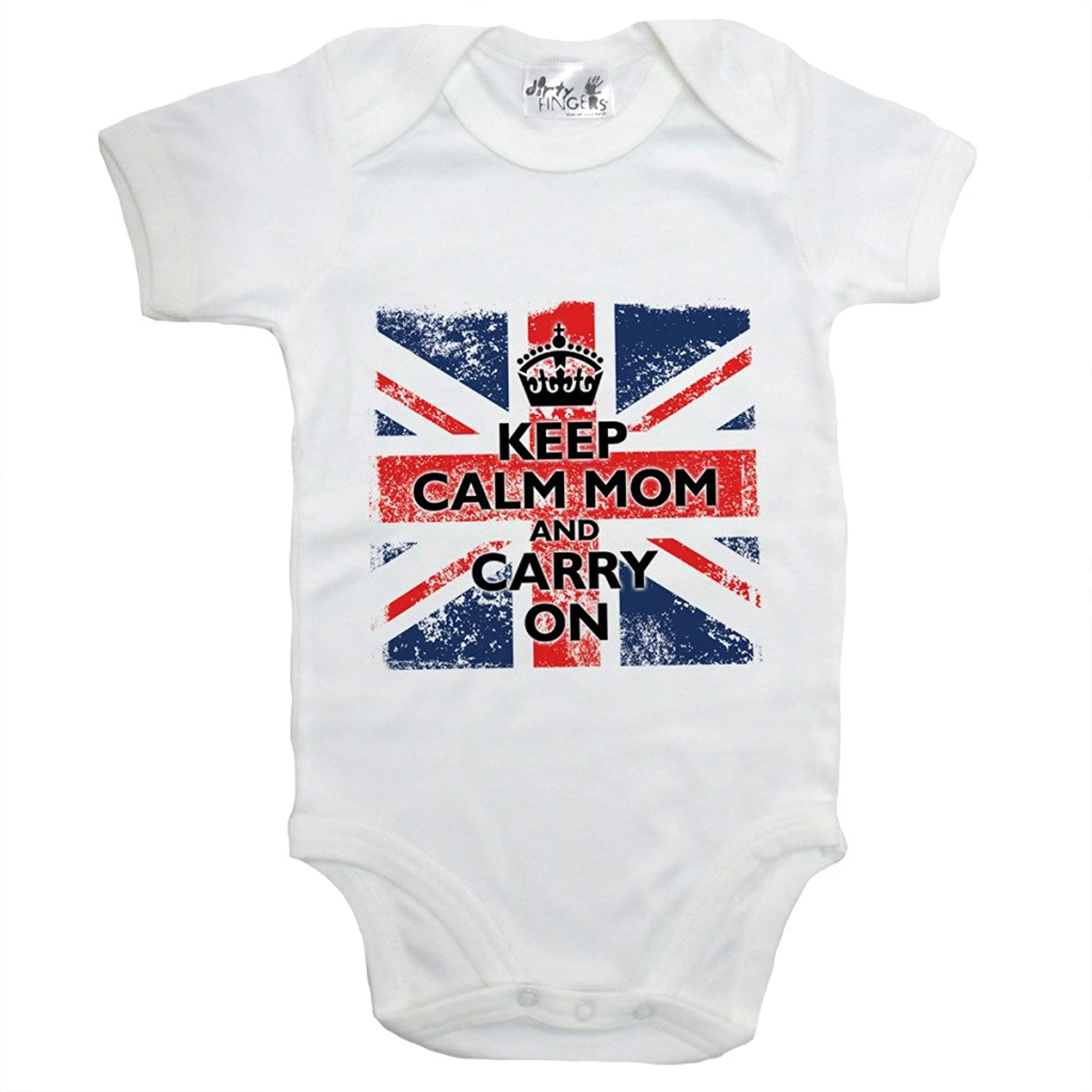 Amazon Dirty Fingers Keep Calm Mom and Carry British flag