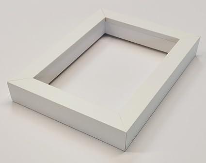 Amazon.com - Shadowbox Gallery Wood Frames - Solid White, 20 x 24 -