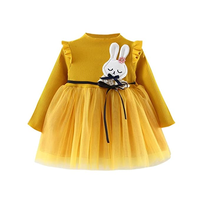 Ropa Niña, K-youth® Vestido de Fiesta de Princesa Tutu para Niñas Vestidos