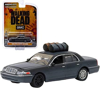 Greenlight 44730-E Hollywood Walking Dead 1971 Pontiac GTO 1:64 Scale Diecast