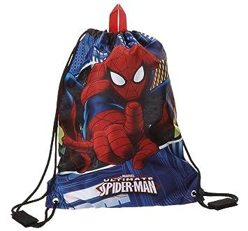 Marvel Spiderman Mochila Infantil, 1.2 litros, Color Azul: Amazon.es: Equipaje