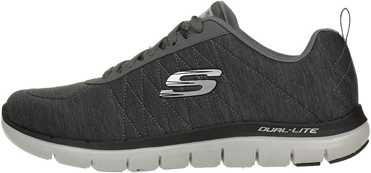 barbilla Sucio rizo  Amazon.com: Skechers 52186-CHAR Size 10.5 US Grey: Shoes