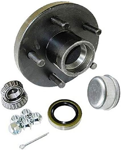"CE SMITH TRAILER HUB KIT PACKAGE 1/"" D//T 4 X 4"