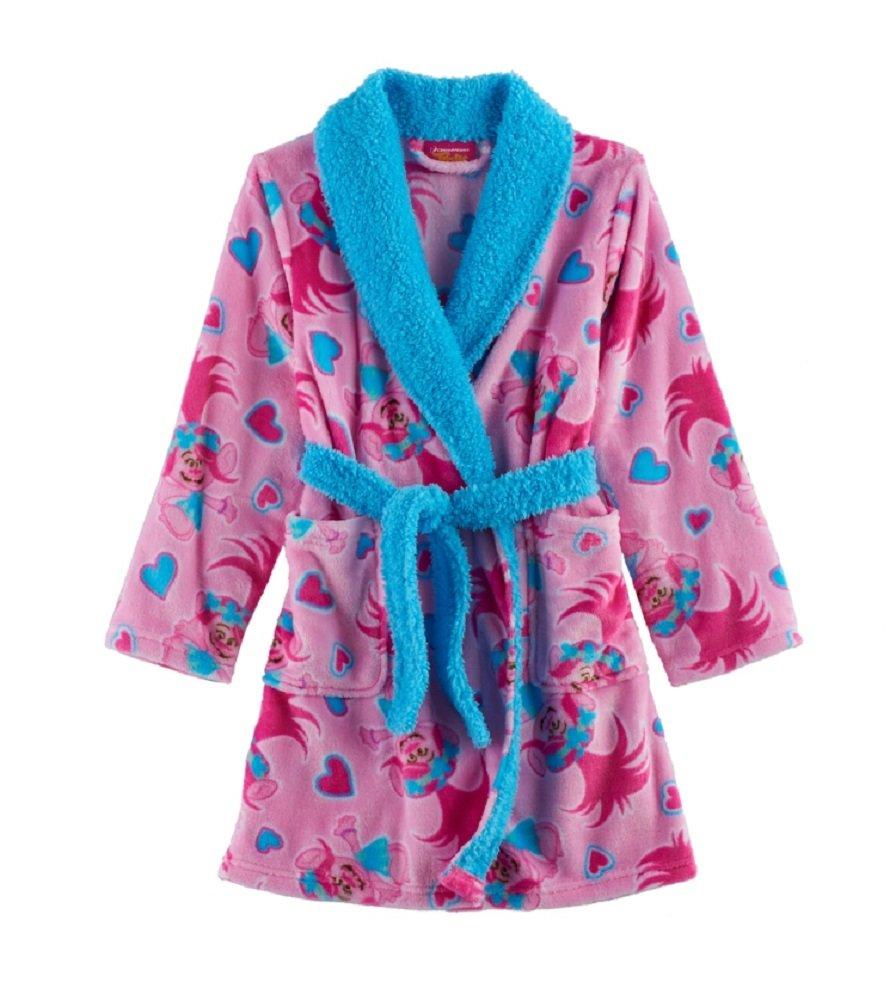 DreamWorks Poppy Pattern Plush Robe - Girls 4-12 (8)