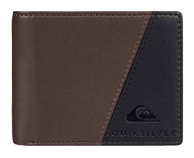 Quiksilver - Cartera para hombre marrón chocolate Medium
