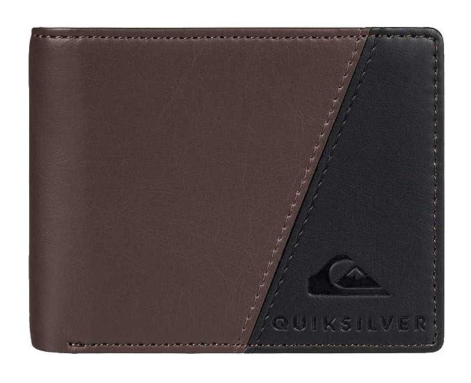 Quiksilver - Cartera para hombre marrón chocolate Medium: Amazon.es: Ropa y accesorios