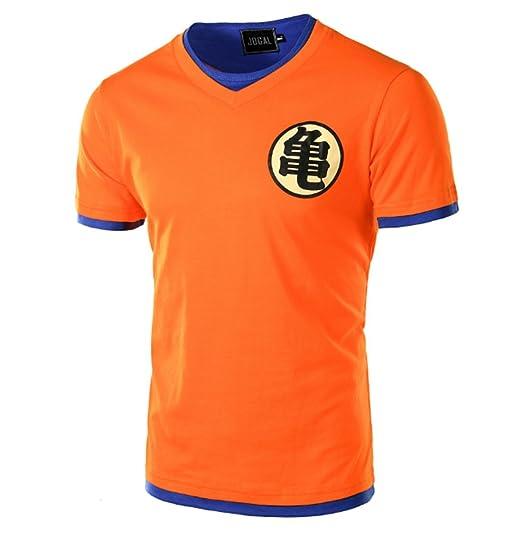 ff8bc91f Amazon.com: CHENMA Men Dragon Ball Goku Pullover Slim Fit T-Shirt ...