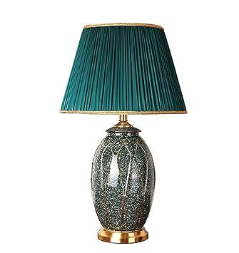 YLT-NYQ Lámpara de Mesa de cerámica Grande - Lámpara de ...