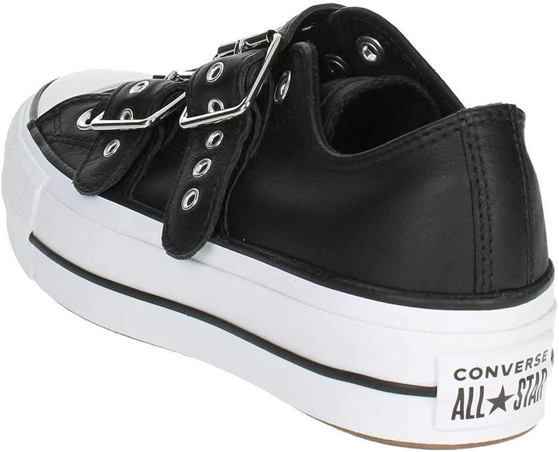 Converse Damen Chuck Taylor CTAS Lift Buckle Ox Sneakers, Weiß