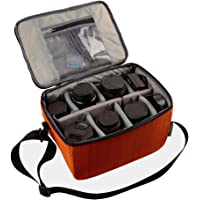 Yimidear Shockproof Partition Padded Camera Bags Insert SLR DSLR Insert Protection Case With Adjustable shoulder strap…