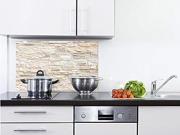 Outdoor Küche Steinmauer : Grazdesign sp küchen spritzschutz aus echtglas bild