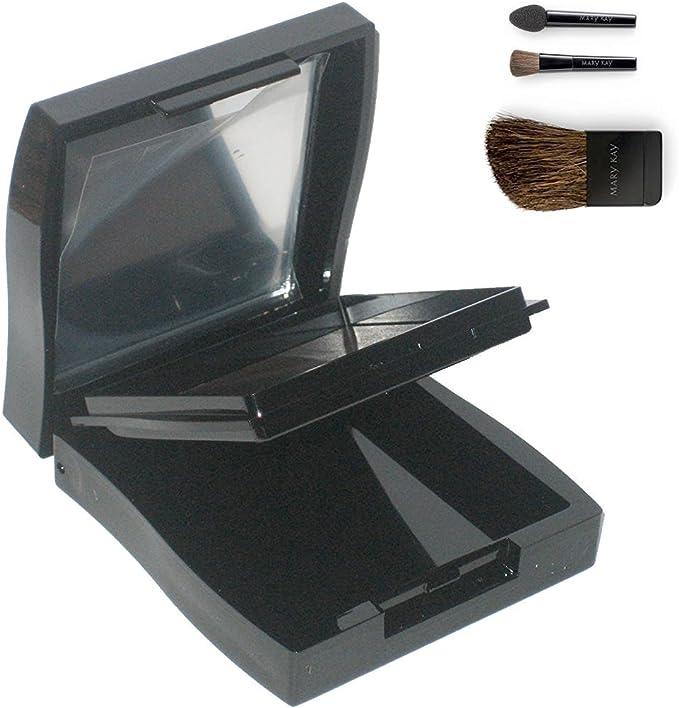 Mary Kay Compact Mini con herramientas (pincel compacto para mejillas y aplicadores de ojos): Amazon.es: Belleza