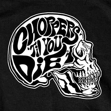 White, XXX-Large Hot Leathers Mens Shredder Skull Long Sleeve Shirt
