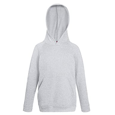 Fruit Of The Loom Childrens Unisex Hooded Sweatshirt Hoodie
