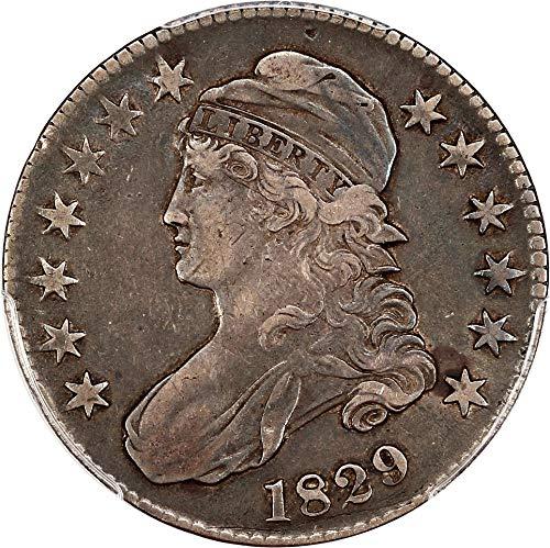 1829 P Bust Half Dollars Half Dollar VF30 PCGS