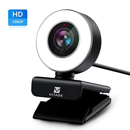 PC Webcam for Streaming HD 1080P, Vitade 960A USB Pro Computer Web Camera  Video Cam for Mac Windows Laptop Conferencing Gaming Xbox Skype OBS Twitch