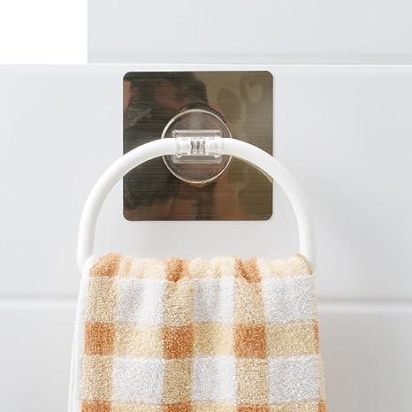 succión taza toallero/Toallero de barra/ ganchos de toallas de baño/colgar en
