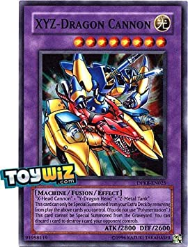 YU-GI-OH! - XYZ-Dragon Cannon (DPKB-EN025) - Duelist Pack: Kaiba - Unlimited Edition - Super Rare by: Amazon.es: Juguetes y juegos