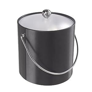 Oggi 7310.3 Vinyl Ice Bucket, Black