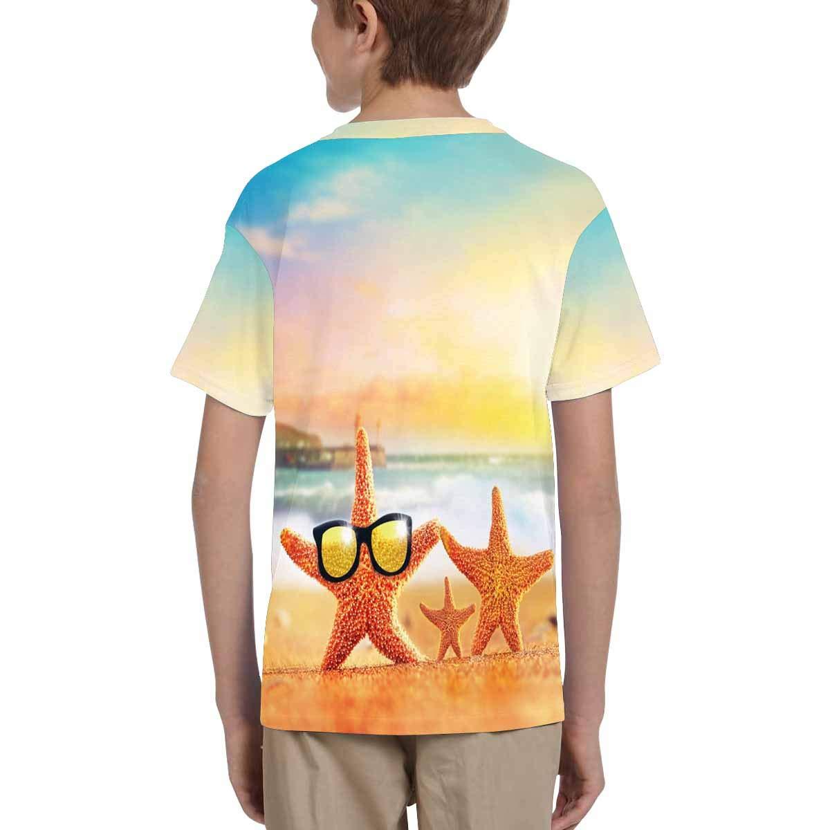 XS-XL INTERESTPRINT Kids Short Sleeve T-Shirt