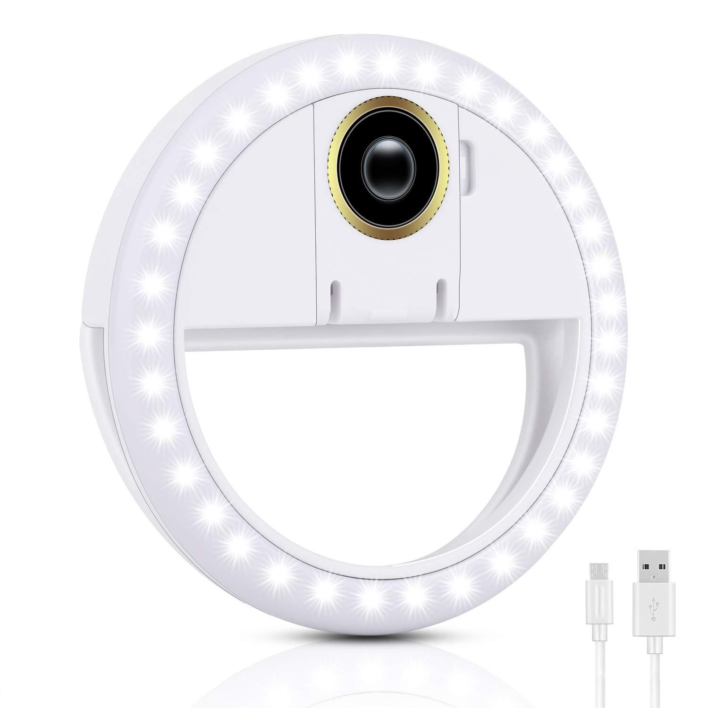 Anillo de luz led y lentre macro para celulares tablets (xsr