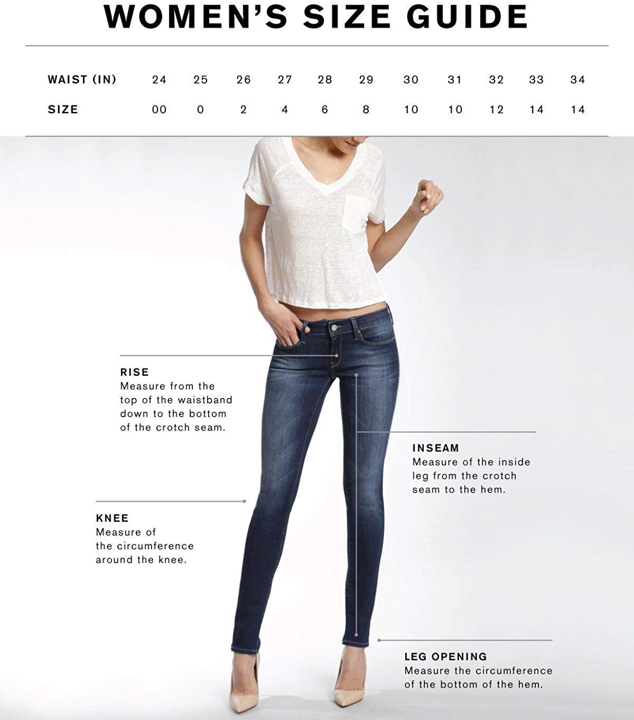 Mavi Jeans Womens Adriana Ankle Mid-Rise Skinny in Indigo Blocking Icon