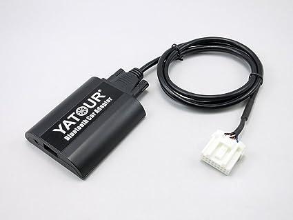 Aux bta Yatour adaptador Bluetooth cambiador CD compatible con Mazda 6 GG Gy GH