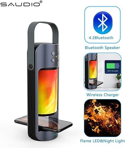 Portable Flame LED Night Light