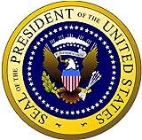 "Presidential Seal Bumper Sticker Insignia Round Car Decal 5"" X 5"""