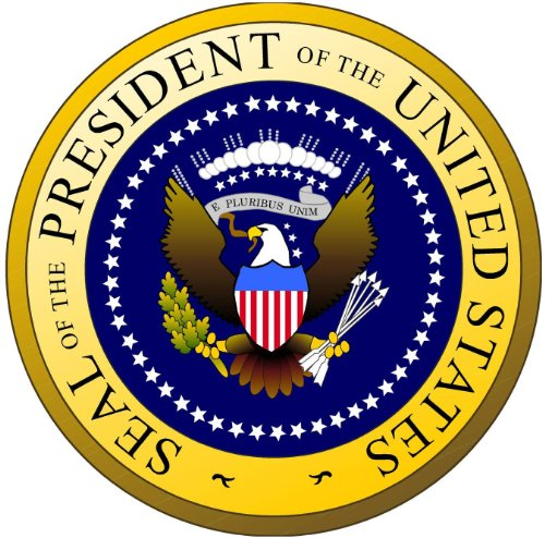 Presidential Seal Bumper Sticker Insignia Round Car Decal 5
