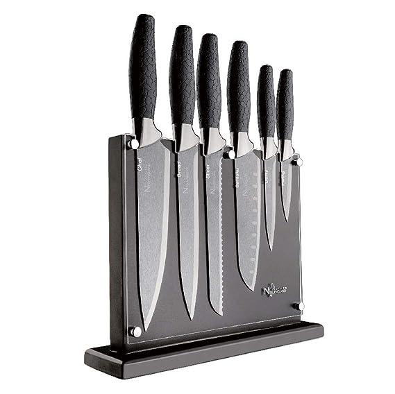 Amazon.com: New England Cutlery NE8807 7 - Juego de ...