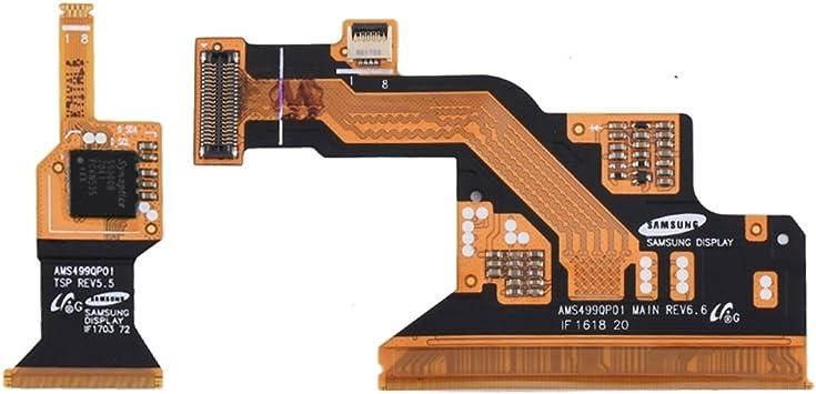 MEIHE-Parts Repuestos par de iPartsCompra para Samsung Galaxy S4 / I9500 / I9505 Conector LCD Flex Cables Reparacion de telefono Roto.: Amazon.es: Electrónica