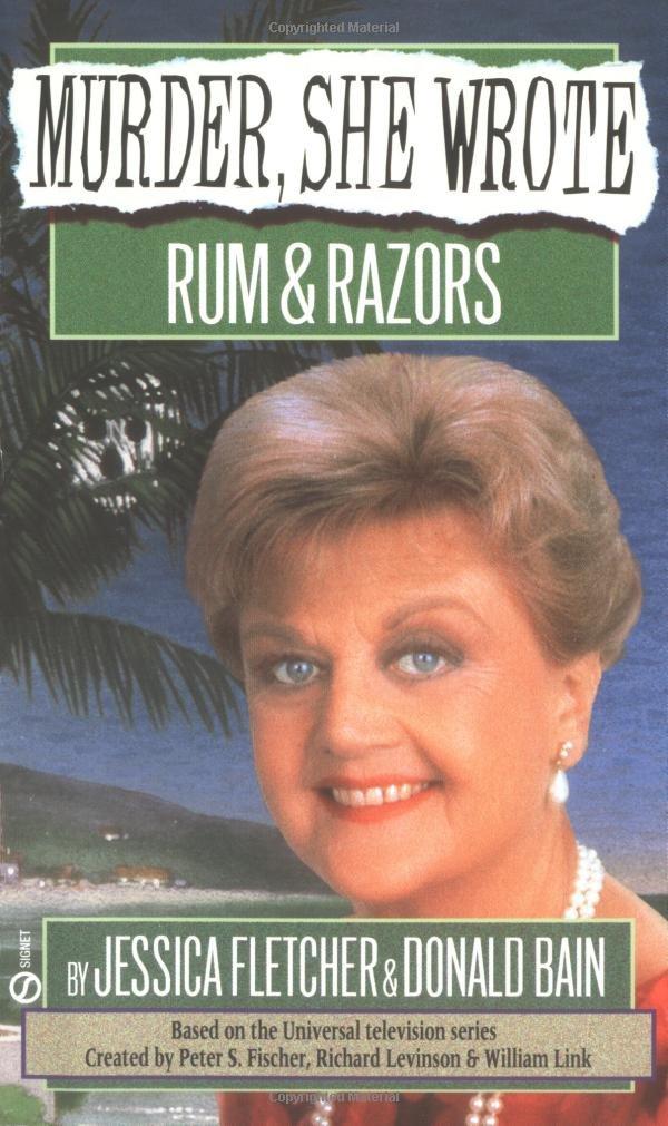 Murder She Wrote Rum Razors product image