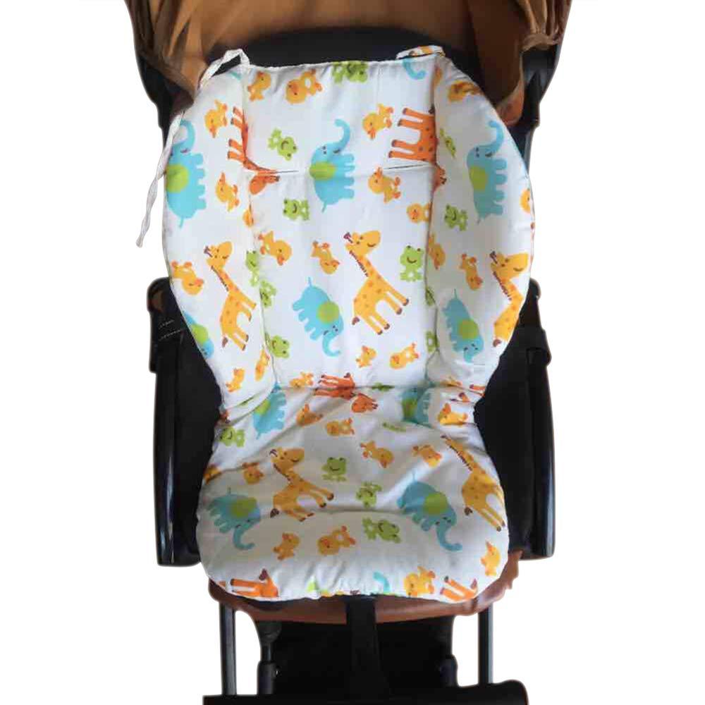 Autotipps Baby Kinderwagen//Auto//Hochstuhl Sitzkissen rutschsicher Matte Pad Cover Protector Animal atmungsaktiv wasserabweisend mit Pentagramm und Tierbild