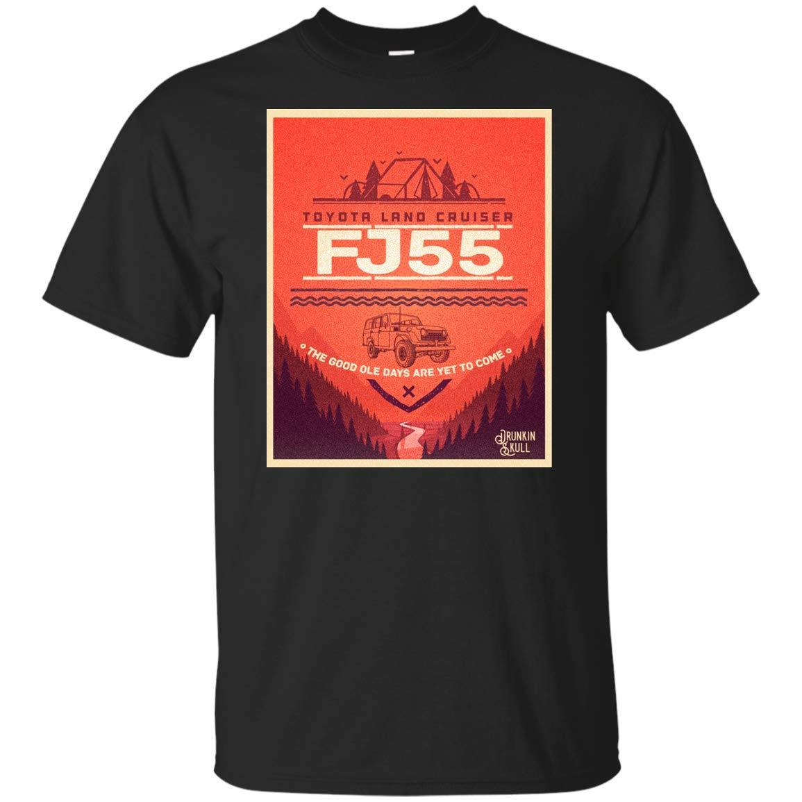 FJ55 Toyota Land Cruiser Adventure Series T-Shirt
