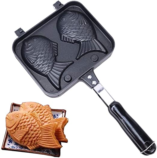 Bearbelly Pan en Forma de Pescado Pan Pan Waffle Pan Cake Pan ...