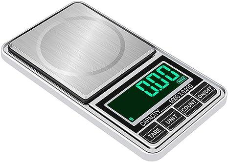 Portable Digital Scale Jewelry Pocket Balance Weight Mini Measurement Gram LCD