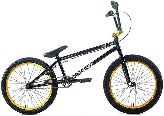 Academy Desire BMX - Bicicleta, 01-25-04-87, Black with Gold ...